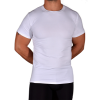 Fitted Crew 2 Pack - White