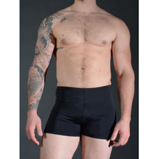 Stretch Nylon Shorts - black