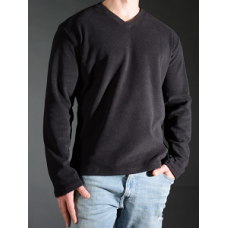 Stretch Fleece V Neck Shirt