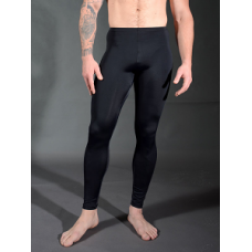 Stretch Nylon Leggings - black