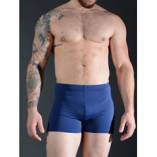 Stretch Nylon Shorts - Navy