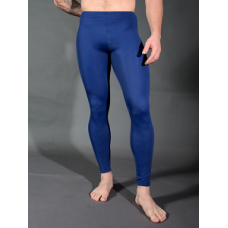 Stretch Nylon Leggings - Navy