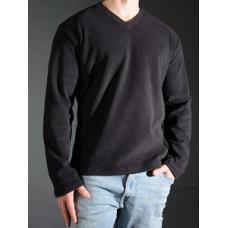 Stretch Fleece V Neck Shirt