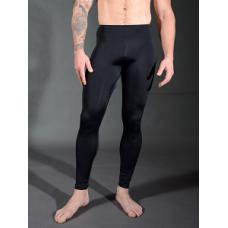 Stretch Nylon Leggings - black